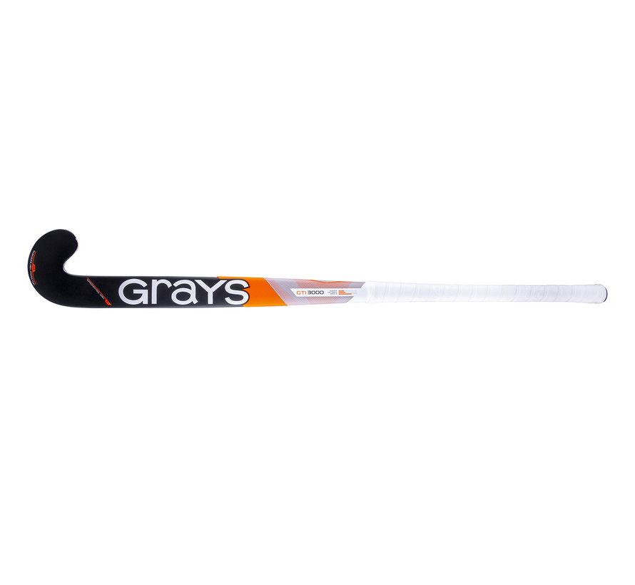 GTI3000 DB zaalhockeystick Wit/Oranje/Grijs