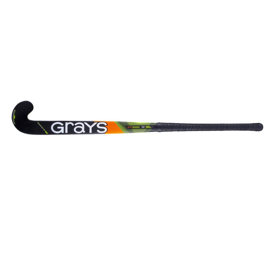 GTI5000 DB zaalhockeystick Zwart/Geel