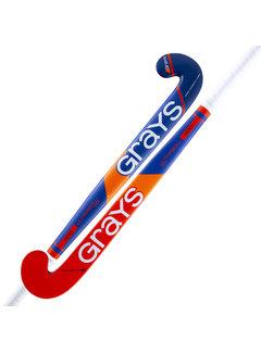 Grays 400i zaalhockeystick UB MC Kobalt/Neon Rood