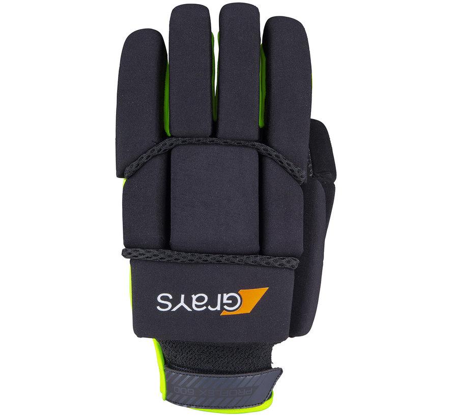 PROFLEX 1000 zaal/strafcorner-handschoen Zwart/Neon Geel LH