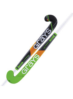 Grays 200i Hallen Hockeyschläger UB MC Schwarz / Grün