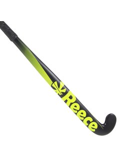 Reece Zaalhockeystick Jungle junior Zwart /Geel