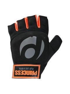 Princess hockey handschoen Player Premium Black/Orange