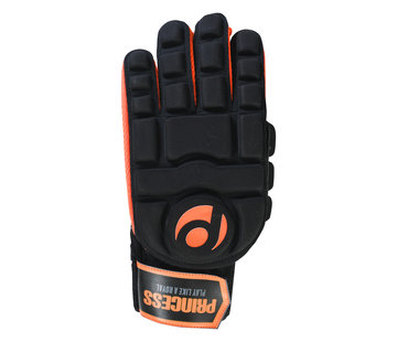 Princess Hockey Hallenhandschuh Full Finger Comp. Schwarz/Orange