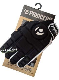Princess Hockey Hallenhandschuh Full Finger Comp. Black/White