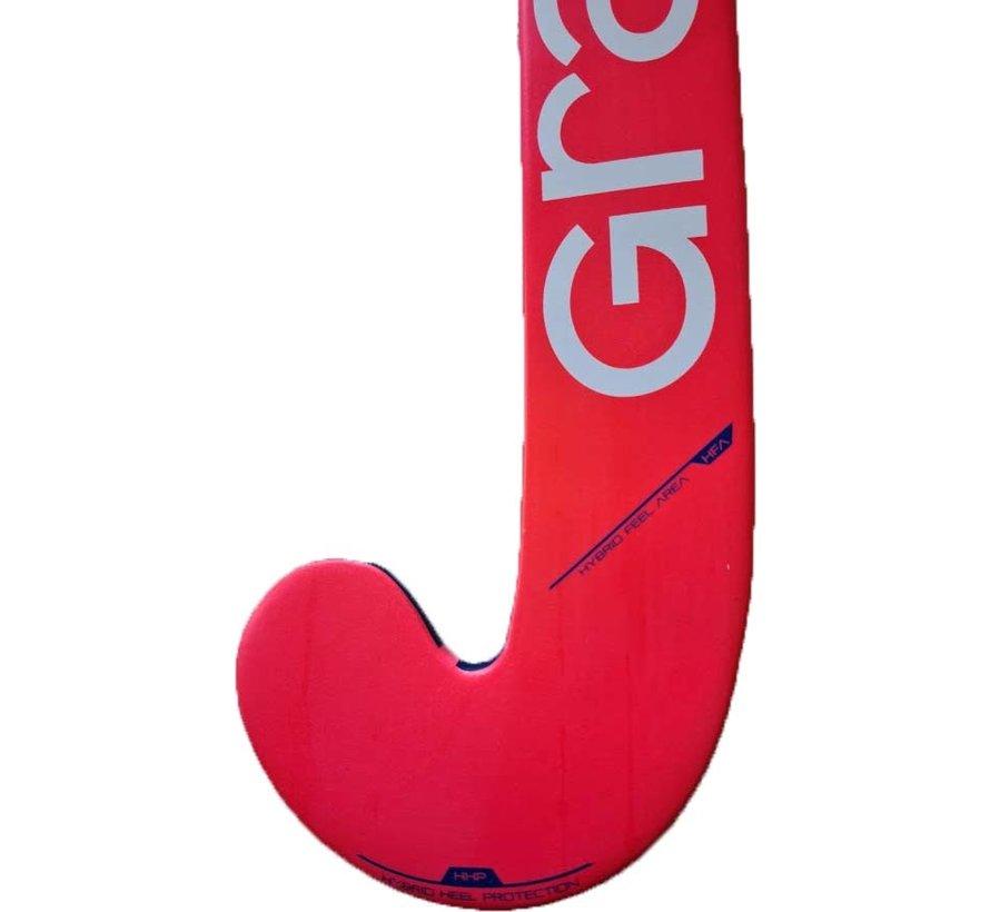 100i zaalhockeystick UB MC Navy/oranje/roze