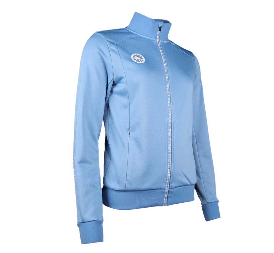 Poly Terry Jacket Women Blauw