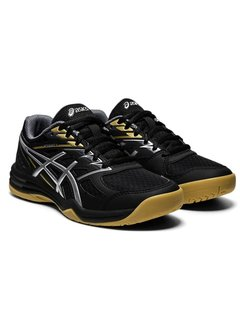 Asics Upcourt 4 Junior GS zaalschoen black/silver