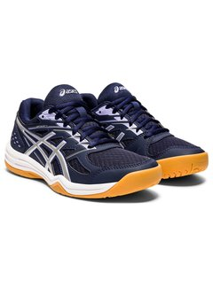 Asics Upcourt 4 indoor shoe Women Peacoat/Pure Silver