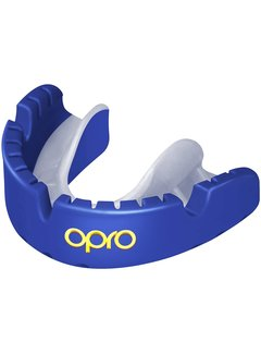Opro Gold Braces Senior Blauw