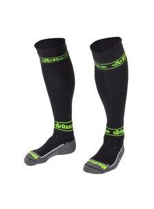 Reece Surrey Socks Black/Neon Yellow