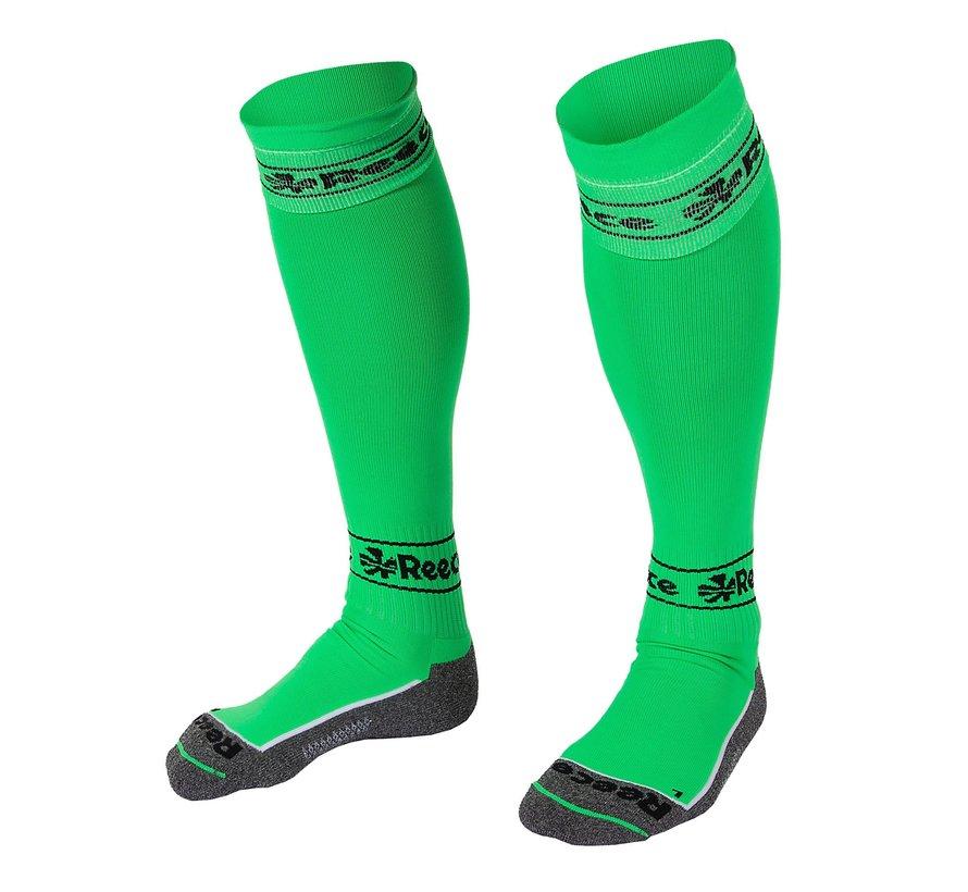 Surrey Socks Neon Green/Black
