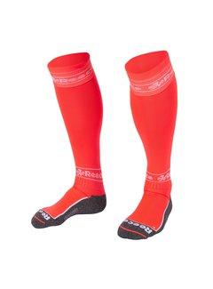 Reece Surrey Sokken Neon Coral/Wit