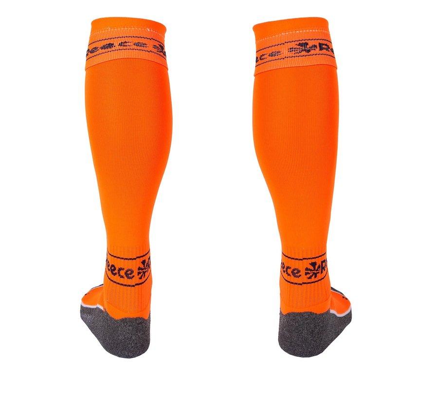 Surrey Socks Neon Orange/Navy