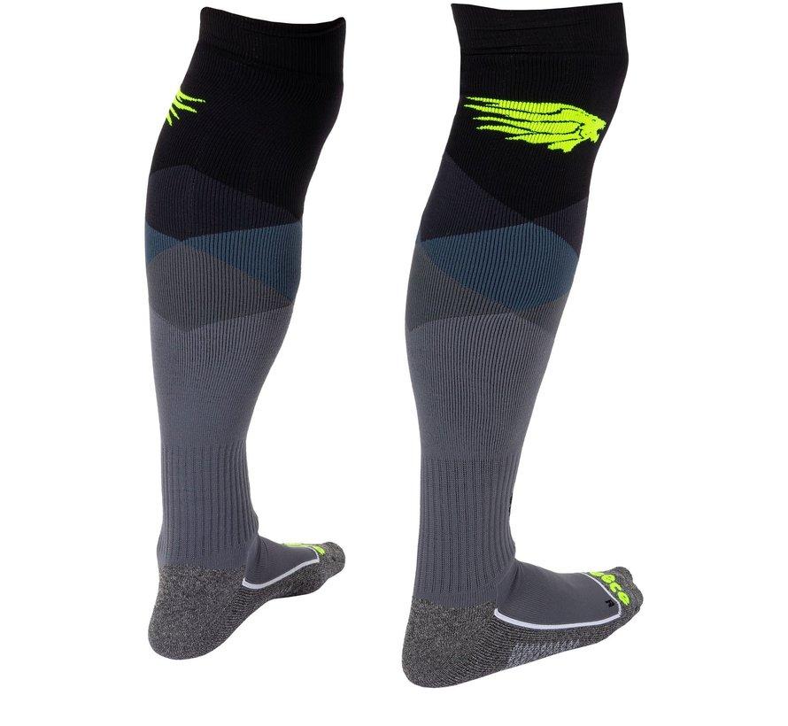 Amaroo Socken Schwarz/Neon Gelb
