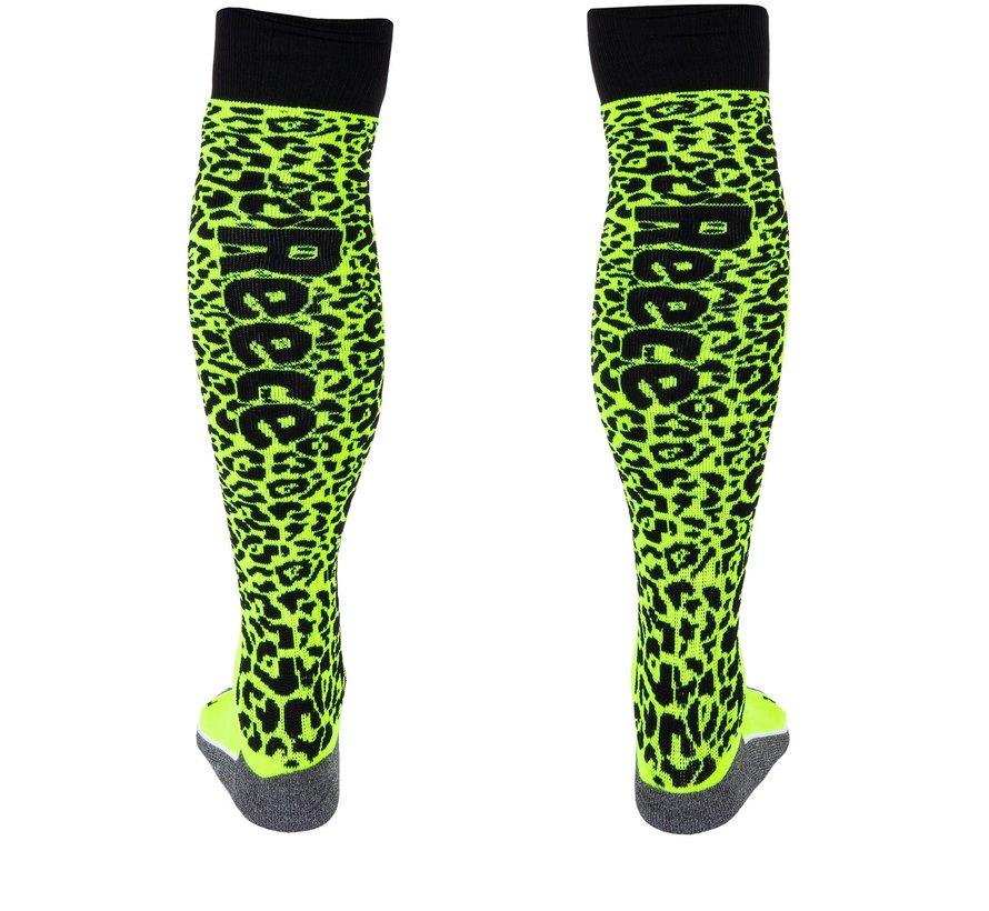 Amaroo Socken Neon Gelb/Schwarz