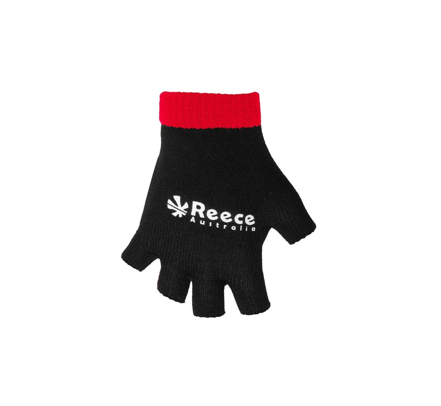 Knitted Ultra Grip Glove 2 in 1 Black/Red