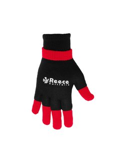 Reece Knitted Ultra Grip Handschuh 2 in 1 Schwarz/Rot