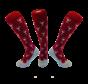 Hockey sock Wine Bordeaux Red