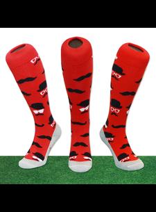 Hingly Hockey Socke Schnurrbart