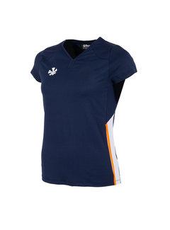 Reece Grammar Shirt Ladies Navy Orange White