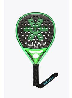 Osaka Padel Racket Vision Pro Power Frame Zwart