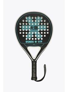 Osaka Padel Racket Deshi Tyro Frame Zwart/Aqua