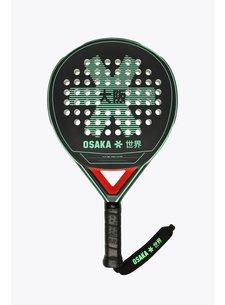 Osaka Padel Racket Vision Precision Frame Zwart/Jade/Rood