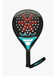 Osaka Padel Racket Pro Tour Power Frame Black/Oxy Red