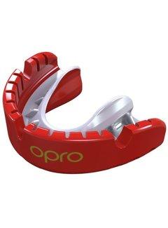 Opro Gold Braces Senior Red