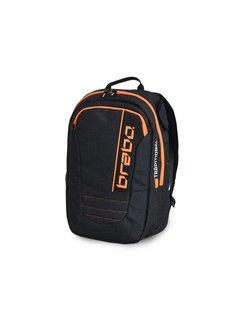Brabo Backpack SR Traditional Denim Zwart/Oranje