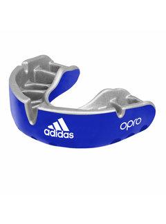 Adidas Mouthguard Braces Gold Edition Blue Senior