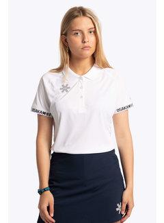Osaka Polo Jersey Ladies - White