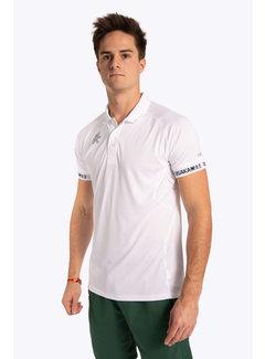 Osaka Polo Jersey Men - White
