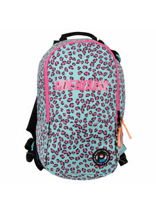 Princess Backpack No Excuse Jr. Leopard/mint