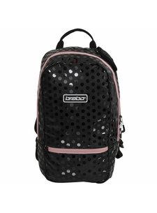 Brabo Backpack FUN Polka Black/Pink