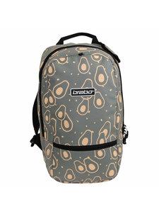 Brabo Backpack FUN Avocado Grey/Peach