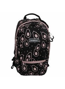 Brabo Backpack FUN Avocado Black/Pink