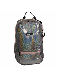 Brabo Backpack FUN Sparkle Silver/Pink