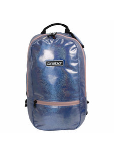 Brabo Backpack FUN Sparkle Blue /Pink