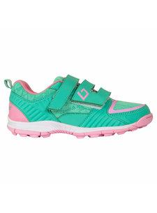 Brabo Hockeyschoenen Velcro Green/Pink