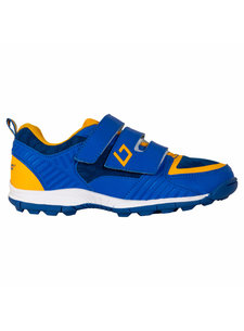 Brabo Hockeyschoenen Velcro Blue/Orange