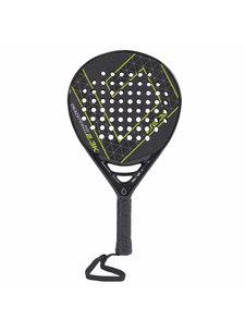 Brabo Padel Racket Traditional 2.3K Cexo Lime S.Teardrop