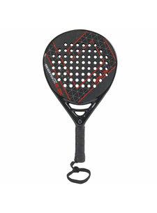 Brabo Padel Racket Traditional 2.3K Cexo Red S.Teardrop