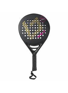 Brabo Padel Racket Pure Studio 2.1C Leopard Pink S.Teardrop