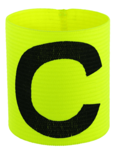 Stanno Captains Band Neon Yellow / Schwarz