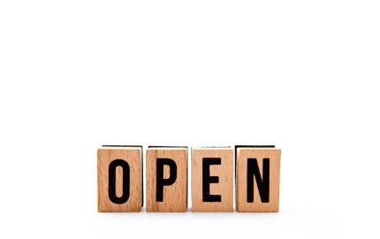 Our store is open!