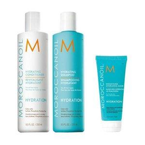 MOROCCANOIL® Hydration Shampoo + Conditioner + Maske light