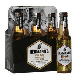 Hermann's Bier- und Hopfenshampoo 6 x 250 ml