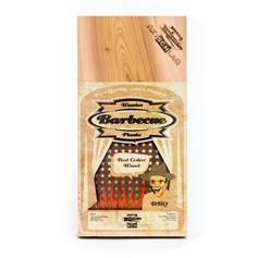 Axtschlag Axtschlag Rookplank rode ceder (Red Cedar) 300x150x11mm